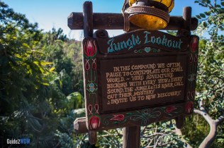 Swiss Family Robinson Treehouse - Jungle Lookout - Magic Kingdom Attraction